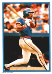 1985 Topps Glossy Send-Ins Baseball Cards      011      Leon Durham