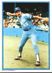1985 Topps Glossy Send-Ins Baseball Cards      035      Dan Quisenberry