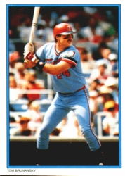 1985 Topps Glossy Send-Ins Baseball Cards      039      Tom Brunansky