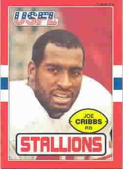 1985 Topps USFL Football Cards