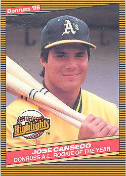 1986 Donruss Highlights Baseball Cards