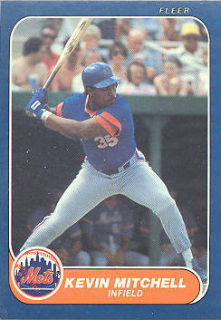 1986 Fleer Update Baseball Cards