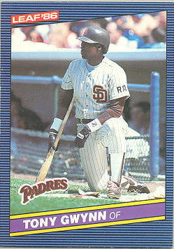 1986 Leaf/Donruss Baseball Cards