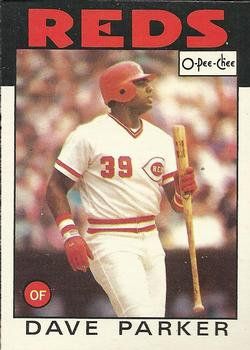 1986 O-Pee-Chee Baseball Cards 287     Dave Parker