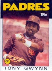 1986 Topps Baseball Cards      010      Tony Gwynn