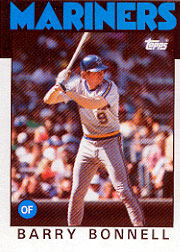1986 Topps Baseball Cards      119     Barry Bonnell