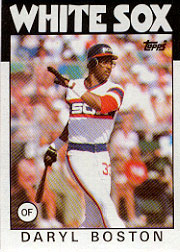 1986 Topps Baseball Cards      139     Daryl Boston