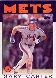 1986 Topps Baseball Cards      170     Gary Carter