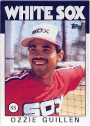 1986 Topps Baseball Cards      254     Ozzie Guillen RC