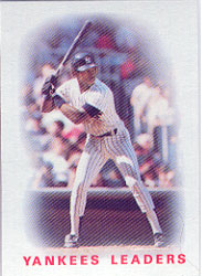 1986 Topps Baseball Cards      276     Yankees Leaders#{Willie Randolph