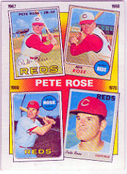 1986 Topps Baseball Cards      003      Rose Special: 67-70