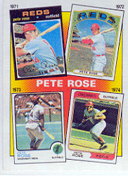 1986 Topps Baseball Cards      004      Rose Special: 71-74