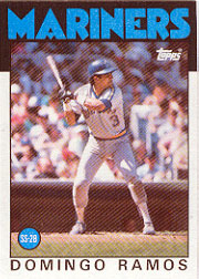 1986 Topps Baseball Cards      462     Domingo Ramos