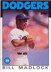 1986 Topps Baseball Cards      470     Bill Madlock
