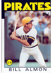 1986 Topps Baseball Cards      048      Bill Almon
