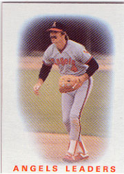 1986 Topps Baseball Cards      486     Angels Leaders#{Bobby Grich