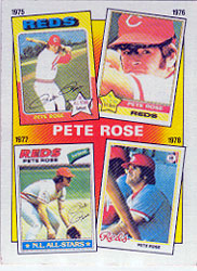 1986 Topps Baseball Cards      005      Rose Special: 75-78