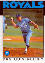 1986 Topps Baseball Cards      050      Dan Quisenberry