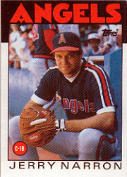 1986 Topps Baseball Cards      543     Jerry Narron
