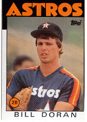 1986 Topps Baseball Cards      057      Bill Doran#{(See also 51)