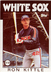 1986 Topps Baseball Cards      574     Ron Kittle
