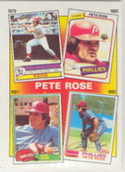 1986 Topps Baseball Cards      006      Rose Special: 79-82