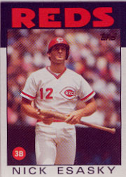 1986 Topps Baseball Cards      677     Nick Esasky