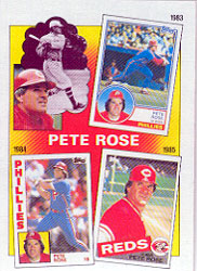 1986 Topps Baseball Cards      007      Rose Special: 83-85