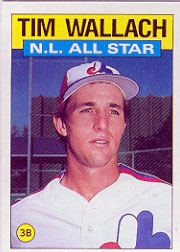 1986 Topps Baseball Cards      703     Tim Wallach AS