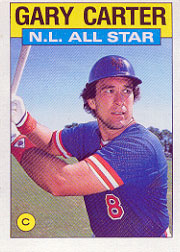 1986 Topps Baseball Cards      708     Gary Carter AS