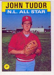 1986 Topps Baseball Cards      710     John Tudor AS