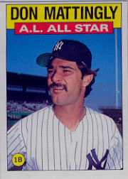 1986 Topps Baseball Cards      712     Don Mattingly AS