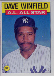 1986 Topps Baseball Cards      717     Dave Winfield AS