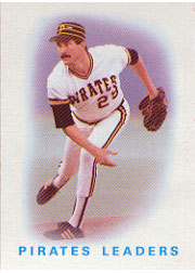 1986 Topps Baseball Cards      756     Pirates Leaders#{Rick Rhoden