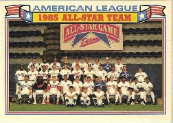 1986 Topps Glossy All-Stars Gray Stock Baseball Cards     011      AL Team Photo/Paul Molitor/Dave Winfield/Don Mattingly/Wade Boggs/George Brett/Eddie Murray/Carlton Fisk/Cal Ripken/Jim Rice/Rickey Henderson