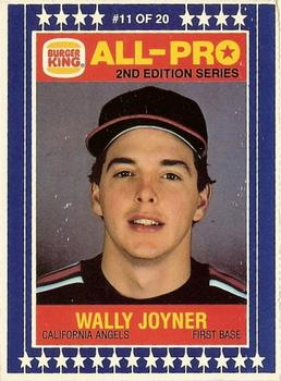 1987 Burger King All-Pro Baseball Cards