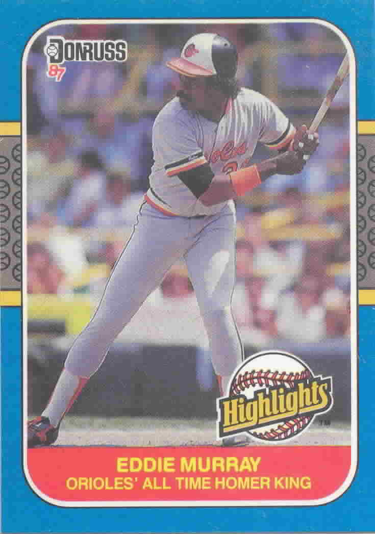 1987 Donruss Highlights Baseball Cards