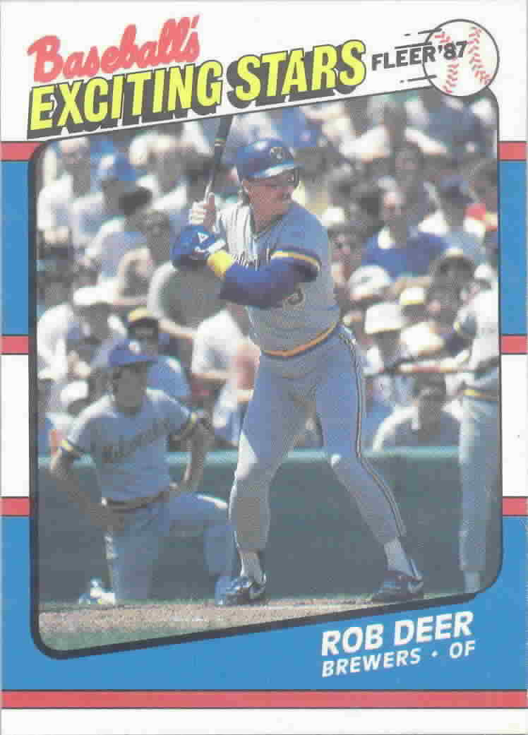 1987 Fleer Exciting Stars Baseball Cards