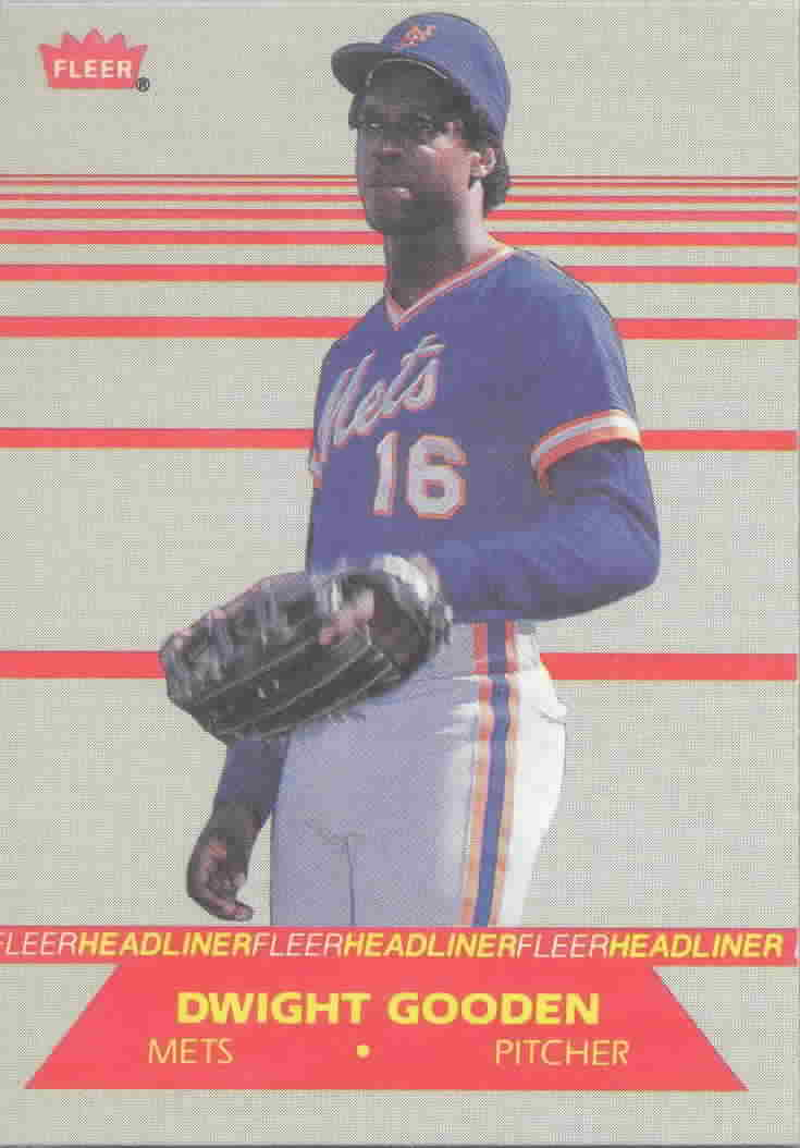 1987 Fleer Headliners Baseball Cards