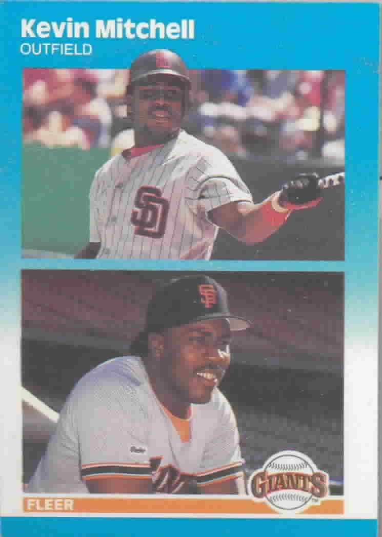 1987 Fleer Update Baseball Cards
