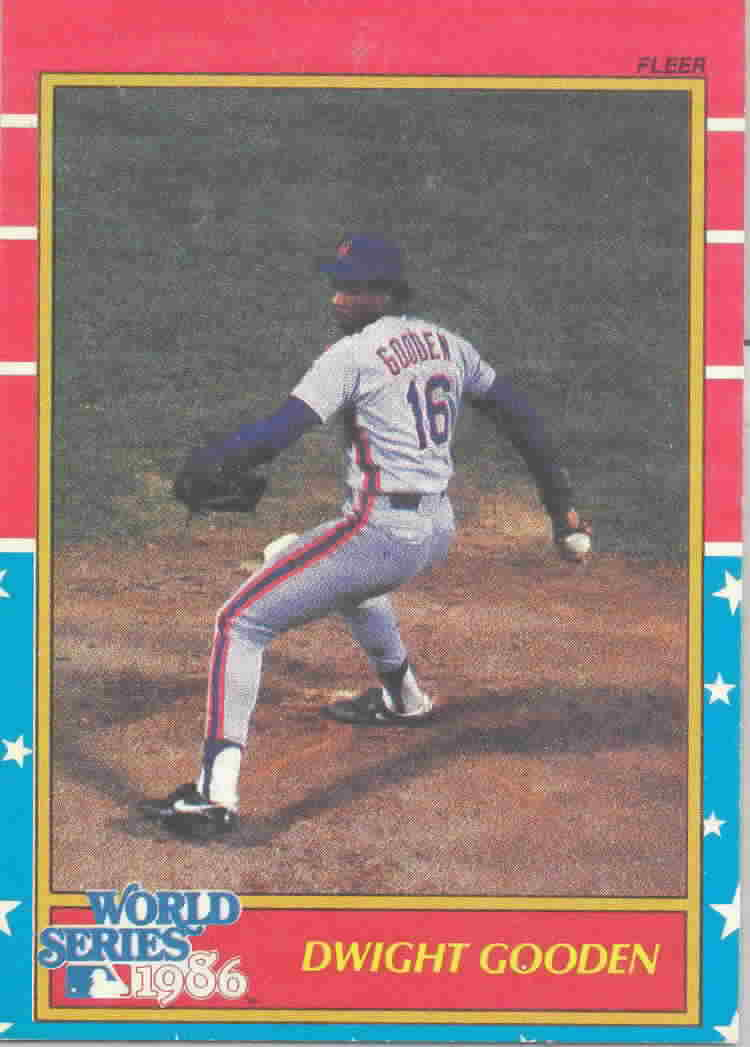 1987 Fleer World Series Baseball Cards