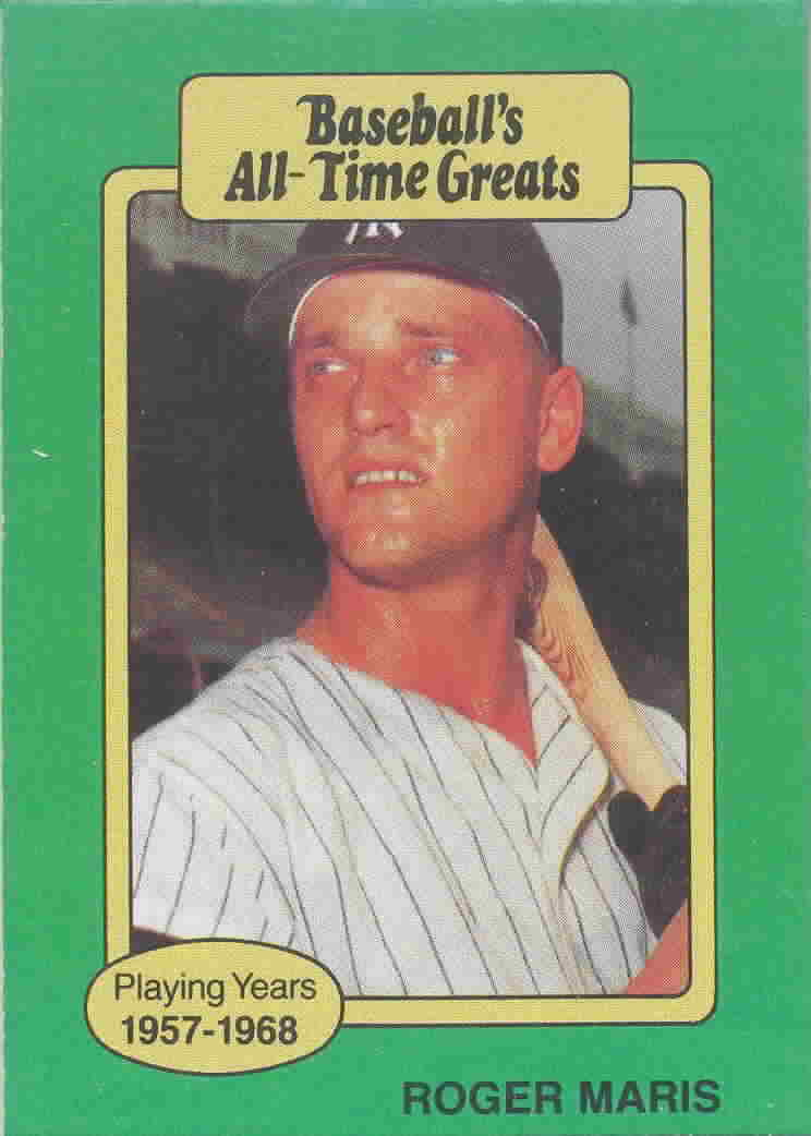 1987 Hygrade All-Time Greats Baseball Cards