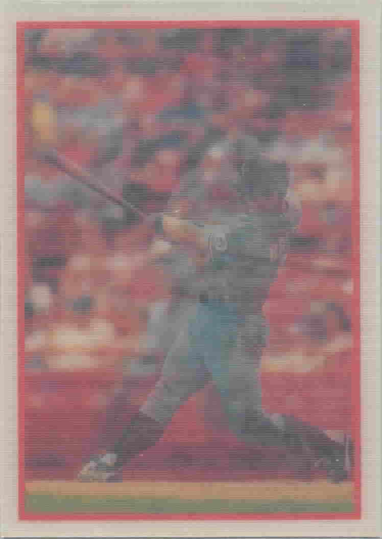 1987 Sportflics (No Copyright Back) Baseball Cards