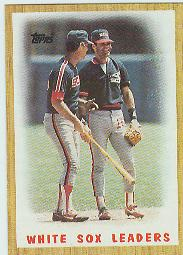 1987 Topps Baseball Cards      356     White Sox Team#{(Mound conference)
