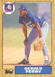 1987 Topps Baseball Cards      639     Gerald Perry