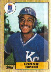 1987 Topps Baseball Cards      069      Lonnie Smith