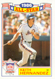 1987 Topps Glossy All-Stars Baseball Cards     002      Keith Hernandez
