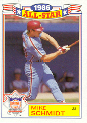 1987 Topps Glossy All-Stars Baseball Cards     004      Mike Schmidt
