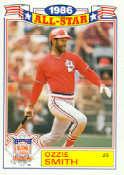 1987 Topps Glossy All-Stars Baseball Cards     005      Ozzie Smith