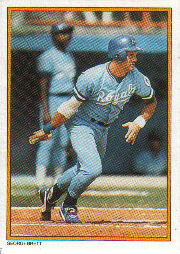 1987 Topps Glossy Send-Ins Baseball Cards      031      George Brett